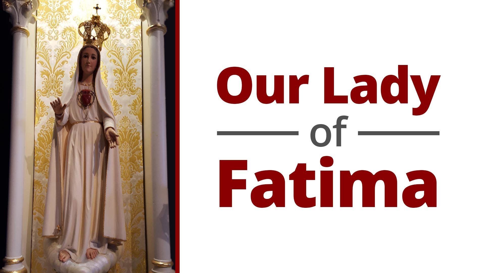 Our Lady Of Fatima Archdiocese Of Louisville Family Ministries